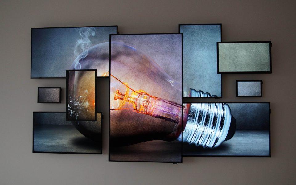Logando-Samsung-Art-Wall