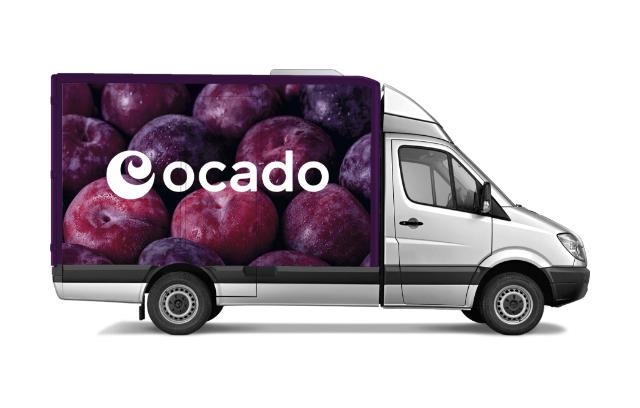 Ocado van new